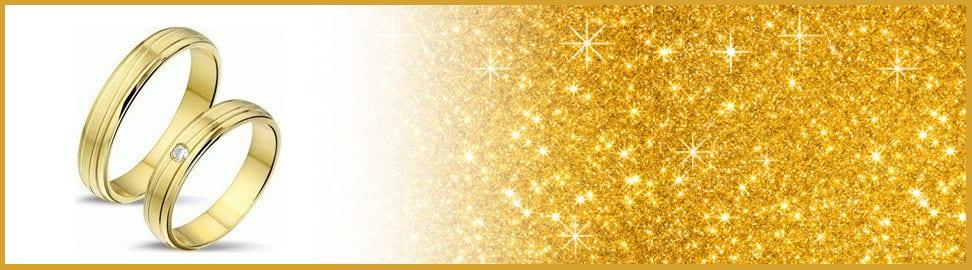 8 karaat gouden trouwringen