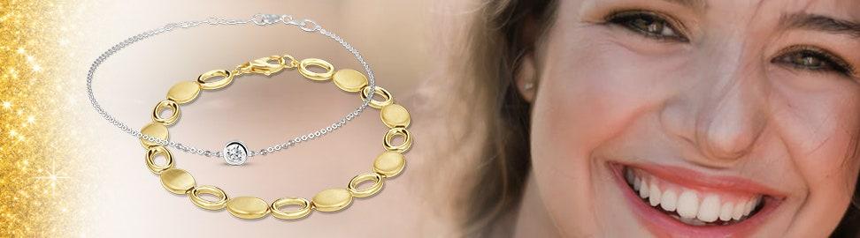 14 karaat gouden armbanden voor dames