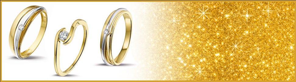 14 karaat goud ringen