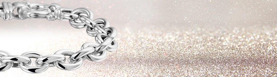 Zilveren schakelarmbanden voor dames en heren. Fraaie designs ... 598ff51164
