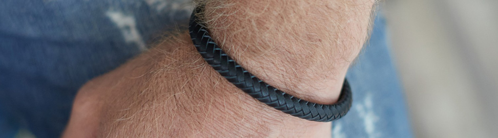 Leren armbanden