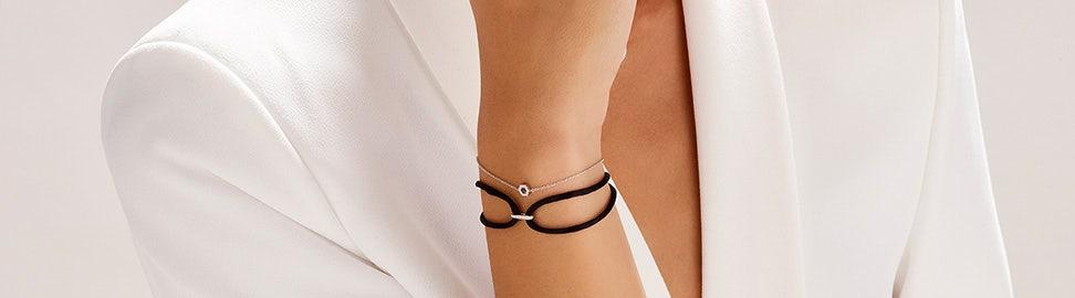 Armband met steentjes