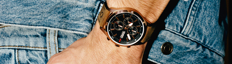 Bruine horloges