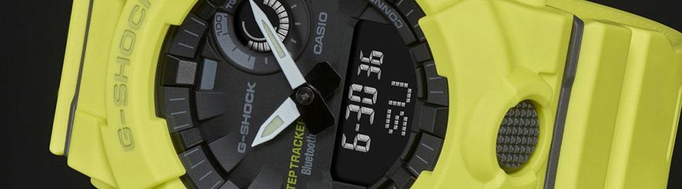 Gele horloges