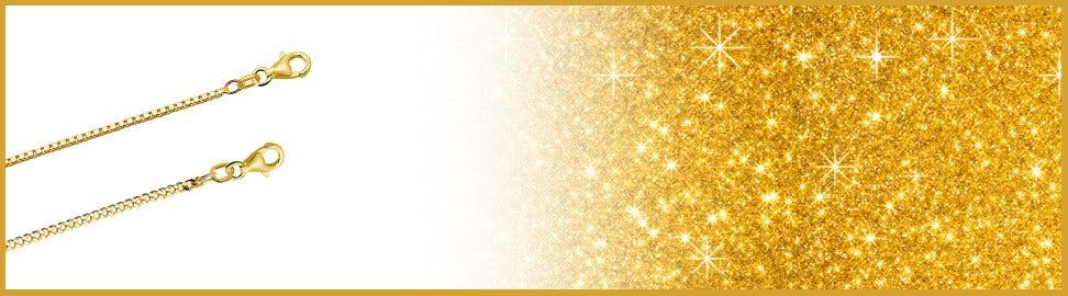9 karaat goud kettingen