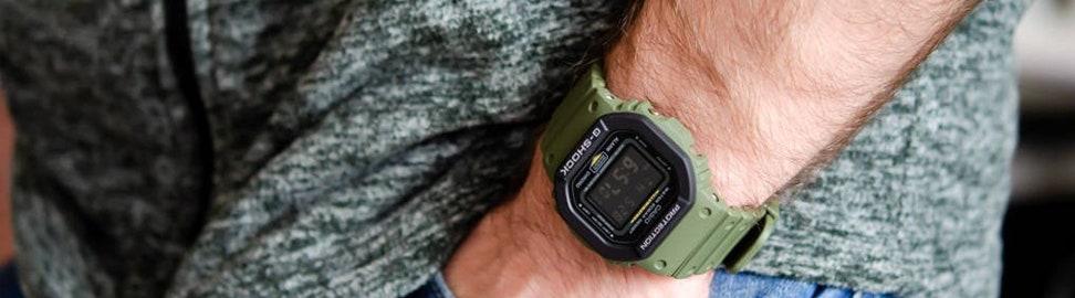 Groene horloges