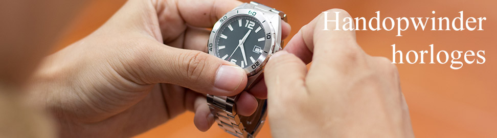 Handopwinder horloges