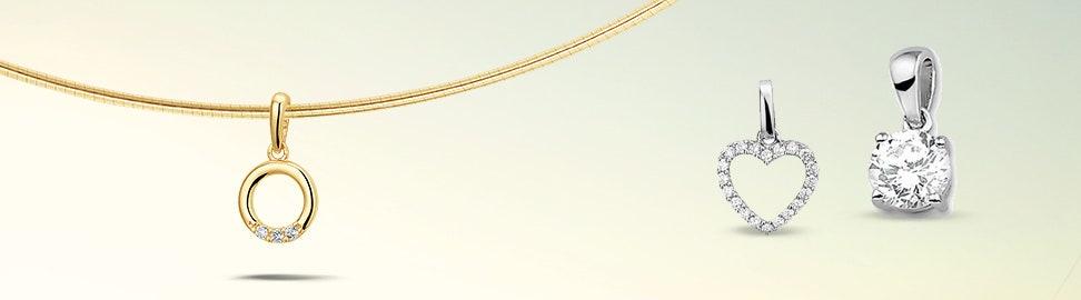 Hanger met zirkonia