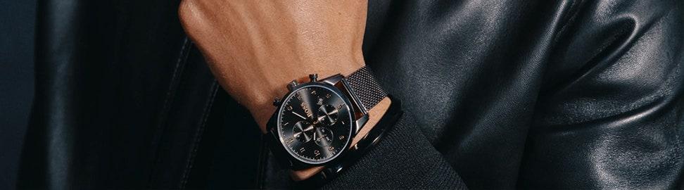 Zwarte horloges