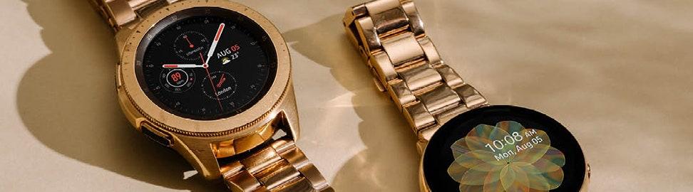 Rosé-goudkleurige horloges