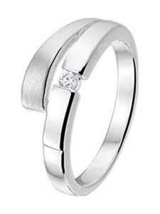 TC-42805 Ring met zirkonia