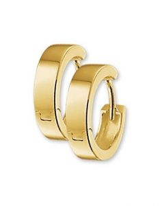 Treasure Collection TC-42880 Gouden klapcreolen 4 mm