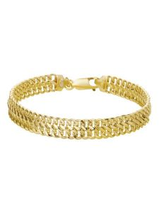 Treasure Collection TC-39016 Geelgouden armband 6,5 mm