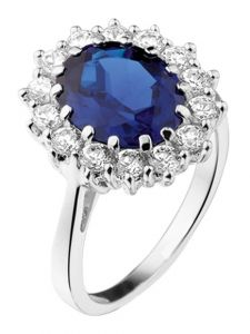 Treasure Collection TC-37036 Zilveren ring met zirkonia