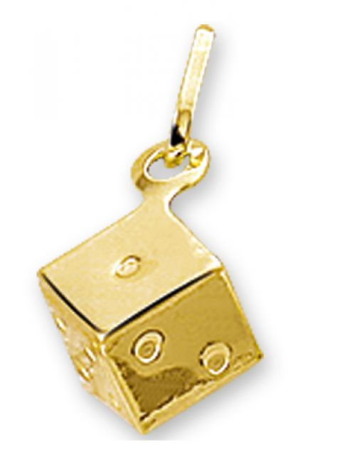 Treasure Collection TC-31387 Gouden dobbelsteen