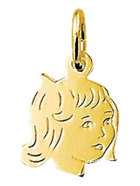 Treasure Collection TC-42946 Gouden bedel meisje