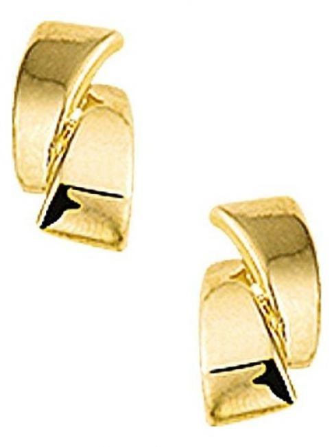 Treasure Collection TC-40787 Gouden oorknoppen 8x5 mm