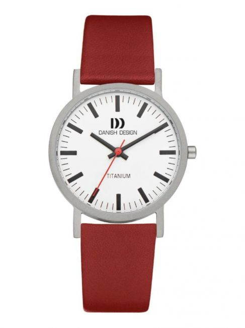 Danish Design IQ19Q199 Titanium horloge 35 mm