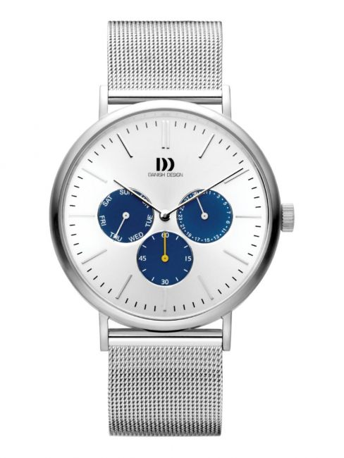 Danish Design IQ62Q1233 Steel herenhorloge