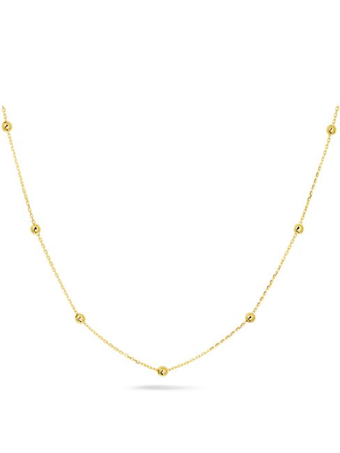 Treasure Collection TC-44920 Gouden ketting bolletjes J138