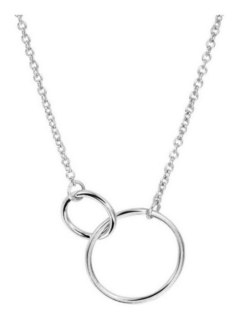 Treasure Collection TC-42989 Zilveren ketting met cirkels