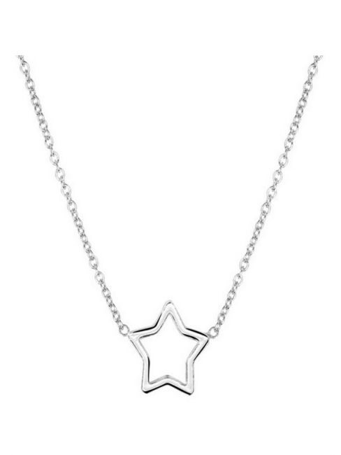 Treasure Collection TC-42994 Zilveren ketting met ster