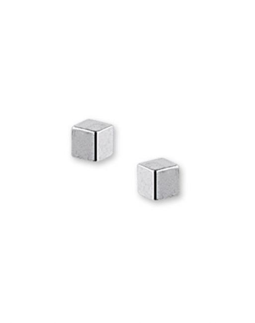 Treasure Collection TC-42306 Oorknoppen edelstaal 3x3 mm