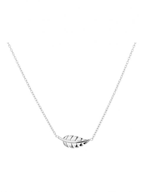 Treasure Collection TC-43806 Zilveren ketting veer