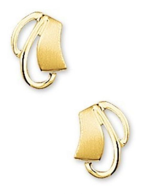 Treasure Collection TC-40791 Gouden oorknoppen 9,5x6,5 mm