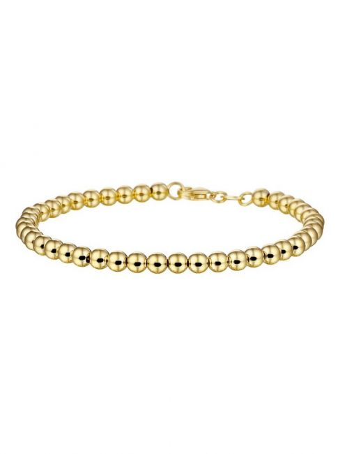 Treasure Collection TC-40057 Geelgouden armband met bolletjes
