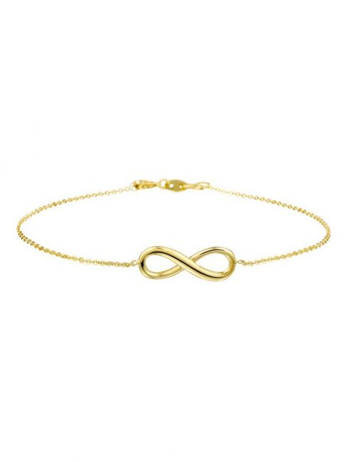 Treasure Collection TC-39975 Gouden armband infinity