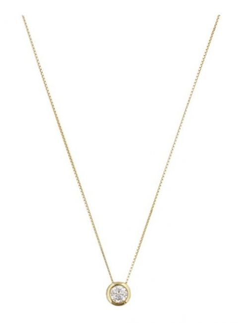 Treasure Collection TC-42959 Gouden ketting zirkonia