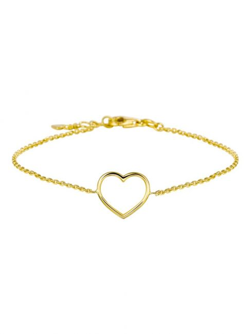 Treasure Collection TC-42969 Gouden armband hartje