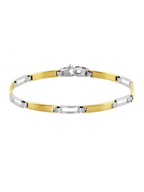 Treasure Collection TC-40923 Bicolor gouden 14 krt armband