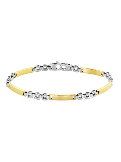 Treasure Collection TC-40924 Bicolor gouden 14 krt armband