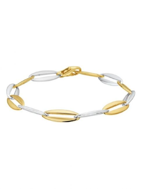 Treasure Collection TC-44931 Bicolor gouden armband C132