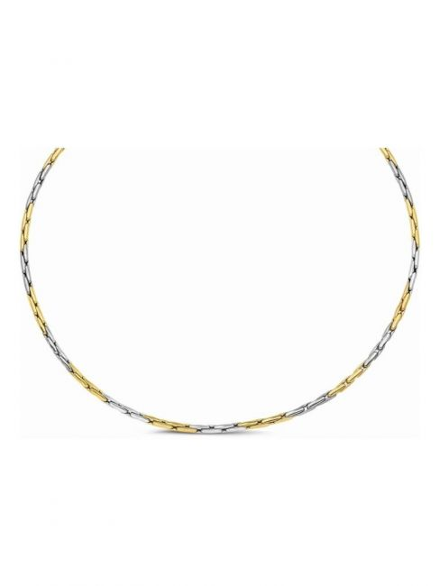 Treasure Collection TC-38142 Bicolor gouden collier
