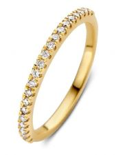 Aurore RA15500020 Millie 18 karaat gouden ring met 0,20 ct lab grown diamant