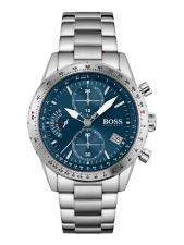 BOSS HB1513850 Pilot Edition Chrono herenhorloge 44 mm