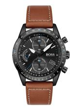 BOSS HB1513851 Pilot Edition Chrono herenhorloge 44 mm
