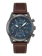 BOSS HB1513852 Pilot Edition Chrono herenhorloge 44 mm