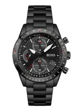 BOSS HB1513854 Pilot Edition Chrono herenhorloge 44 mm