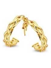 Excellent Jewelry OR106831 14 karaat gouden oorknoppen 20 mm