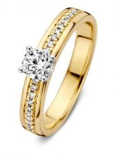 Excellent Jewelry RG416995 14 karaat gouden ring met 0,54 ct diamant