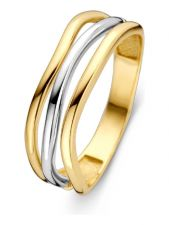 Excellent Jewelry RM406496 14 karaat bicolor gouden ring