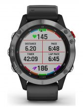 Garmin 010 02410 00 Fenix 6 solar multisport smartwatch 47 mm