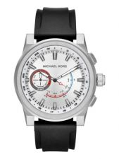 MKT4009 Access Hybrid GraysonSilver-Tone and Silicone Smartwatch