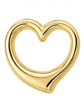 Treasure Collection TC-42898 Gouden hanger hart