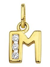 Treasure Collection TC-42953 Gouden bedel letter