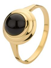 Treasure Collection TC-50759 14 karaat gouden ring met onyx